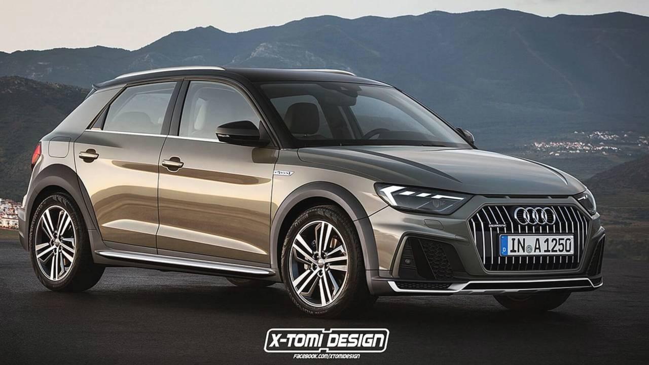 2018 Audi A1 Allroad render