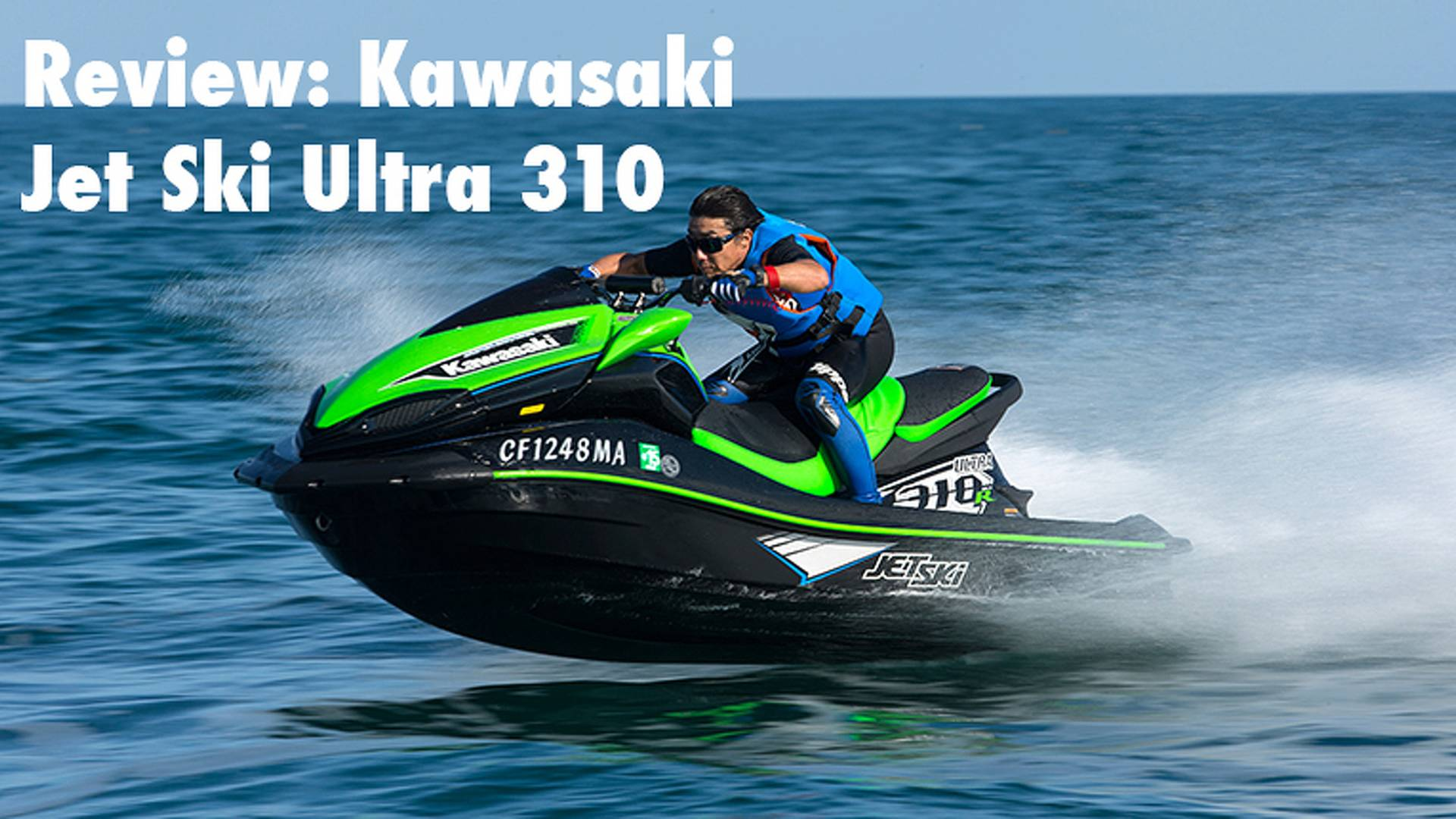 Kawasaki Jet Ski Ultra 310 Review