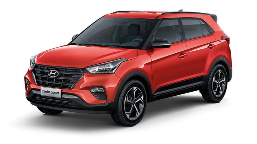 Hyundai comemora liderança do Creta entre SUVs compactos