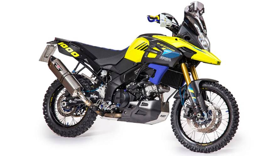 "Meet the Hessler Motors ""Desert Express"" V-Strom Hop Up Kit"
