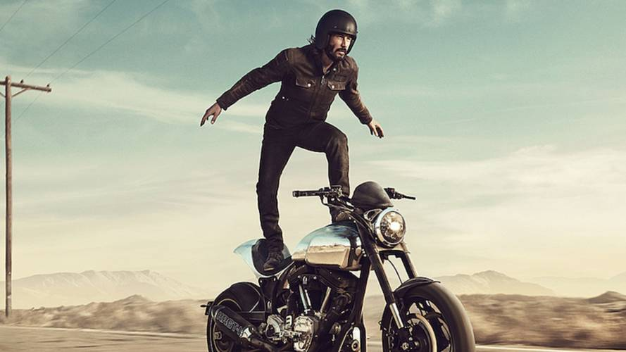 Keanu's Not-So-Death-Defying Super Bowl Ad