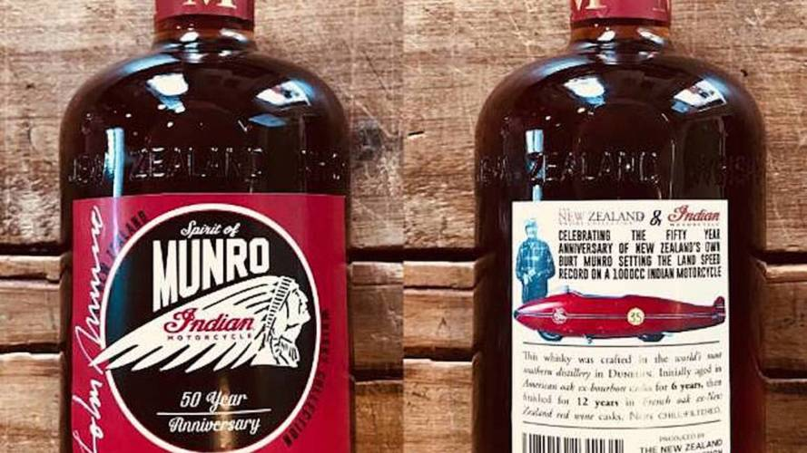 Limited Edition Whiskey is Latest Burt Munro Tribute