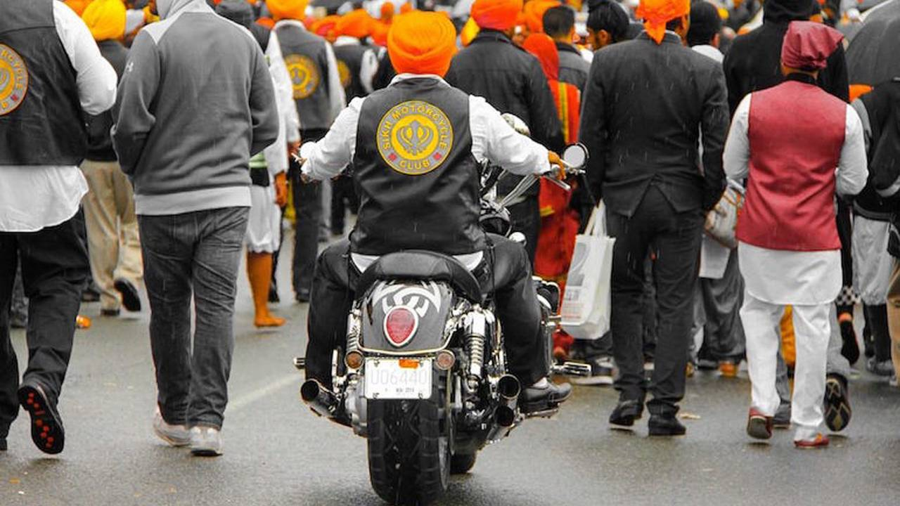 More and more Sikhs are taking up riding