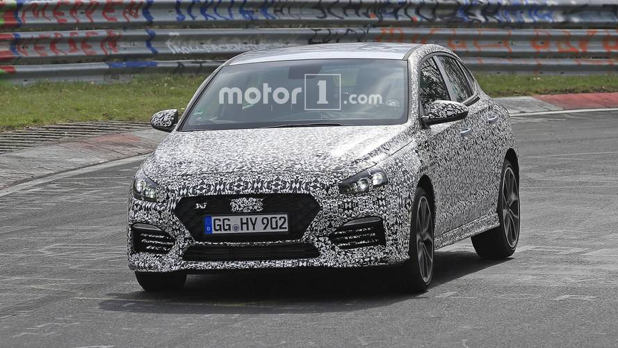 Hyundai i30 N Fastback spied at the Nurburgring