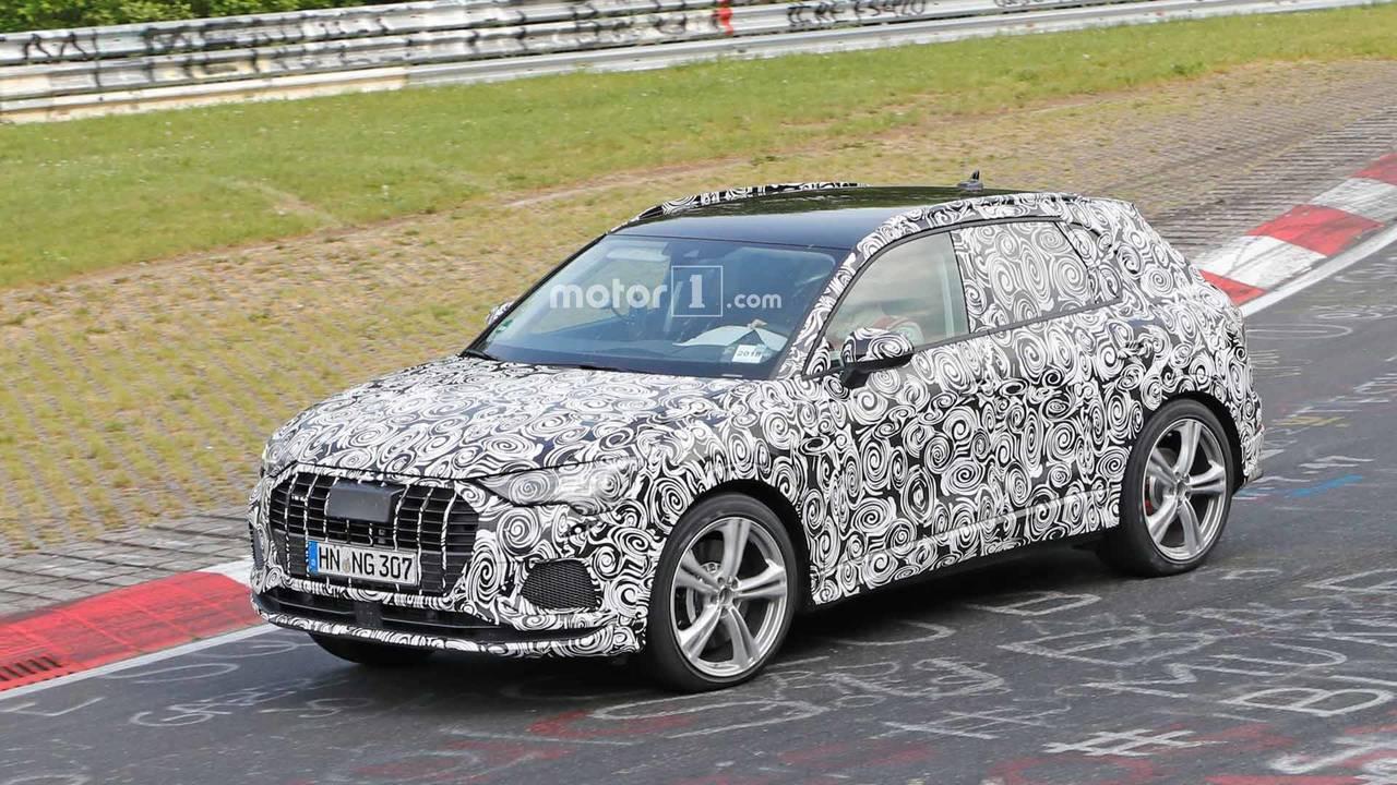 Audi RS Q3 Spy Photos