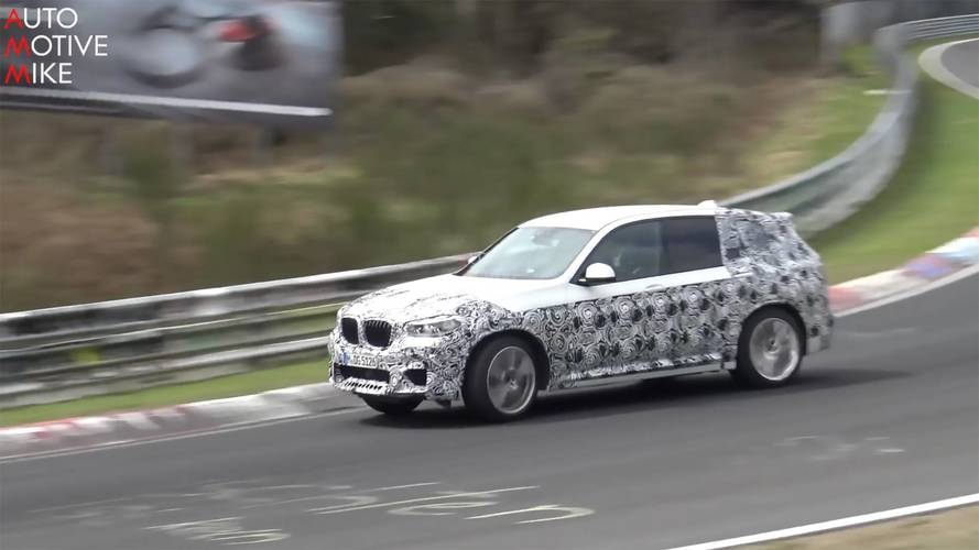 BMW X3 M Spied Being Pushed Hard At The Track