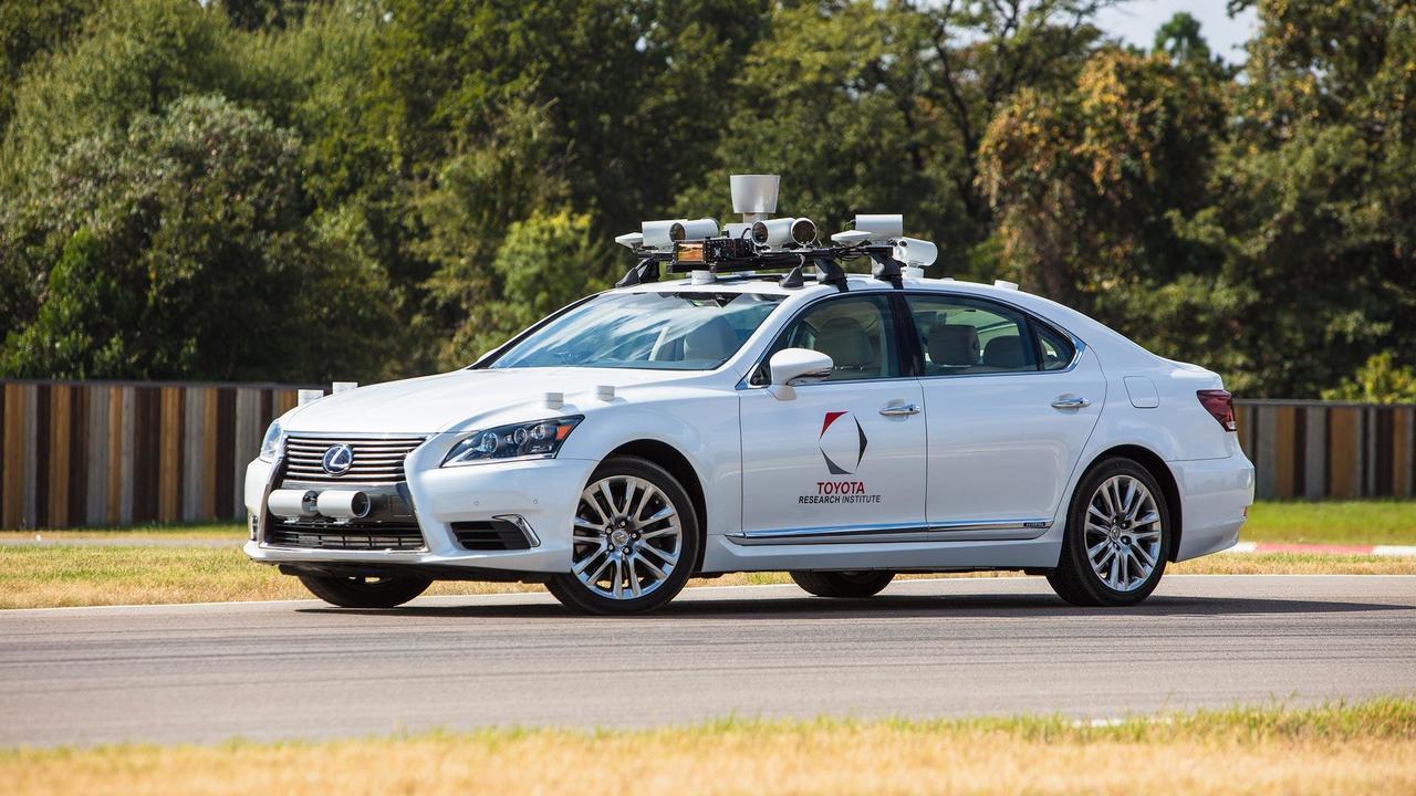 Toyota Research Institute, prototipo a guida autonoma