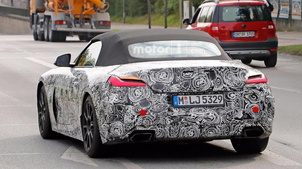 BMW Z4 farlar casus fotoğrafları