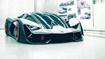 Idén ősszel debütálhat a Lamborghini hibrid-hajtású hiperautója