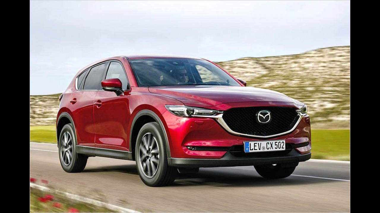 Mazda-SUV mit Sparmotor
