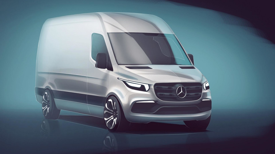Mercedes-Benz divulga primeiro teaser do novo Sprinter