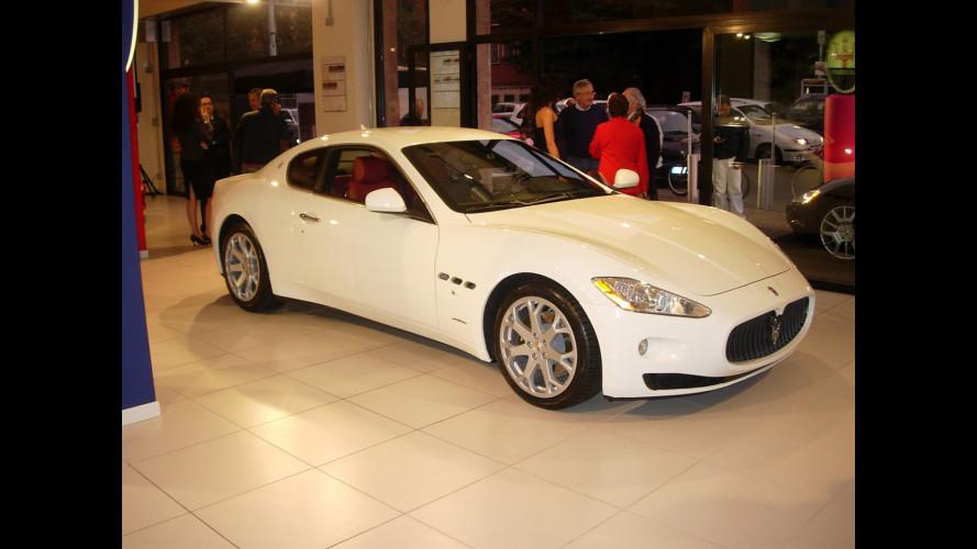 La Maserati Granturismo nei concessionari