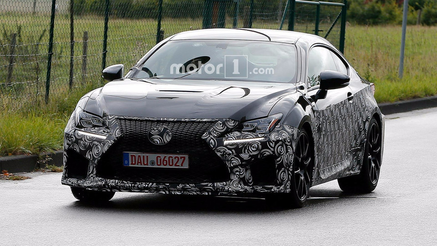 Lexus Spied Prepping Updated RC F, Possible Engine Update