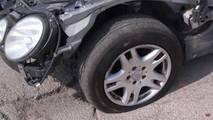 Mercedes-Benz Hitting Pothole