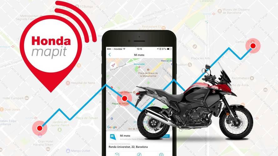Honda se une a la era de la conectividad con 'Honda Mapit'