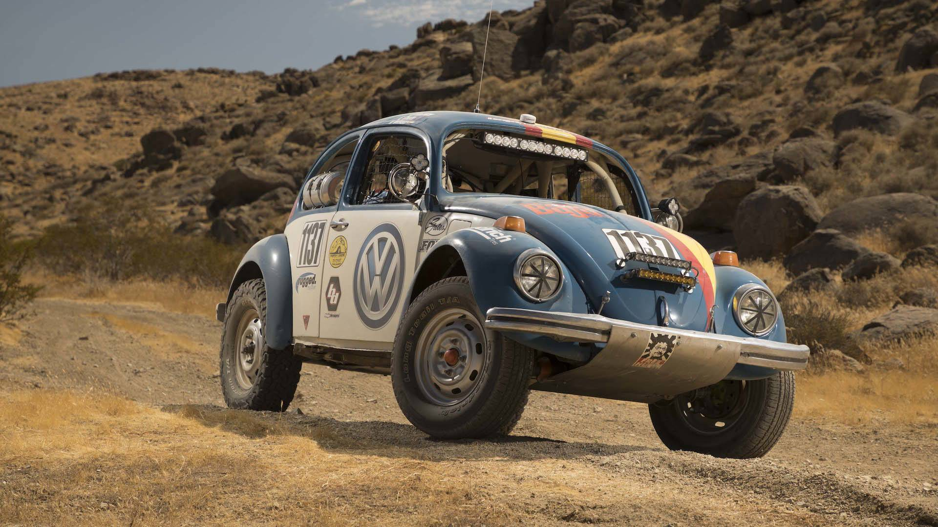 Vw Sponsoring Old School Beetle At This Years Baja 1000
