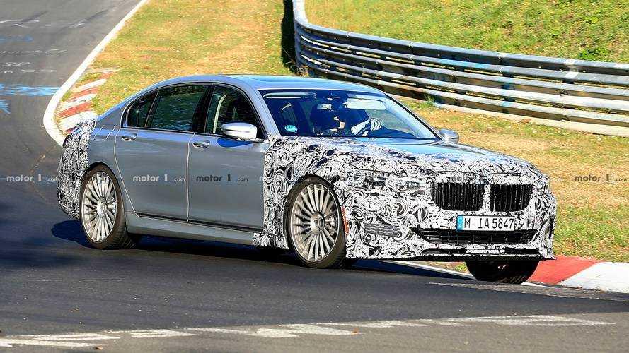 Makyajlı BMW Alpina B7 Nürburgring'de görüntülendi [GÜNCEL]