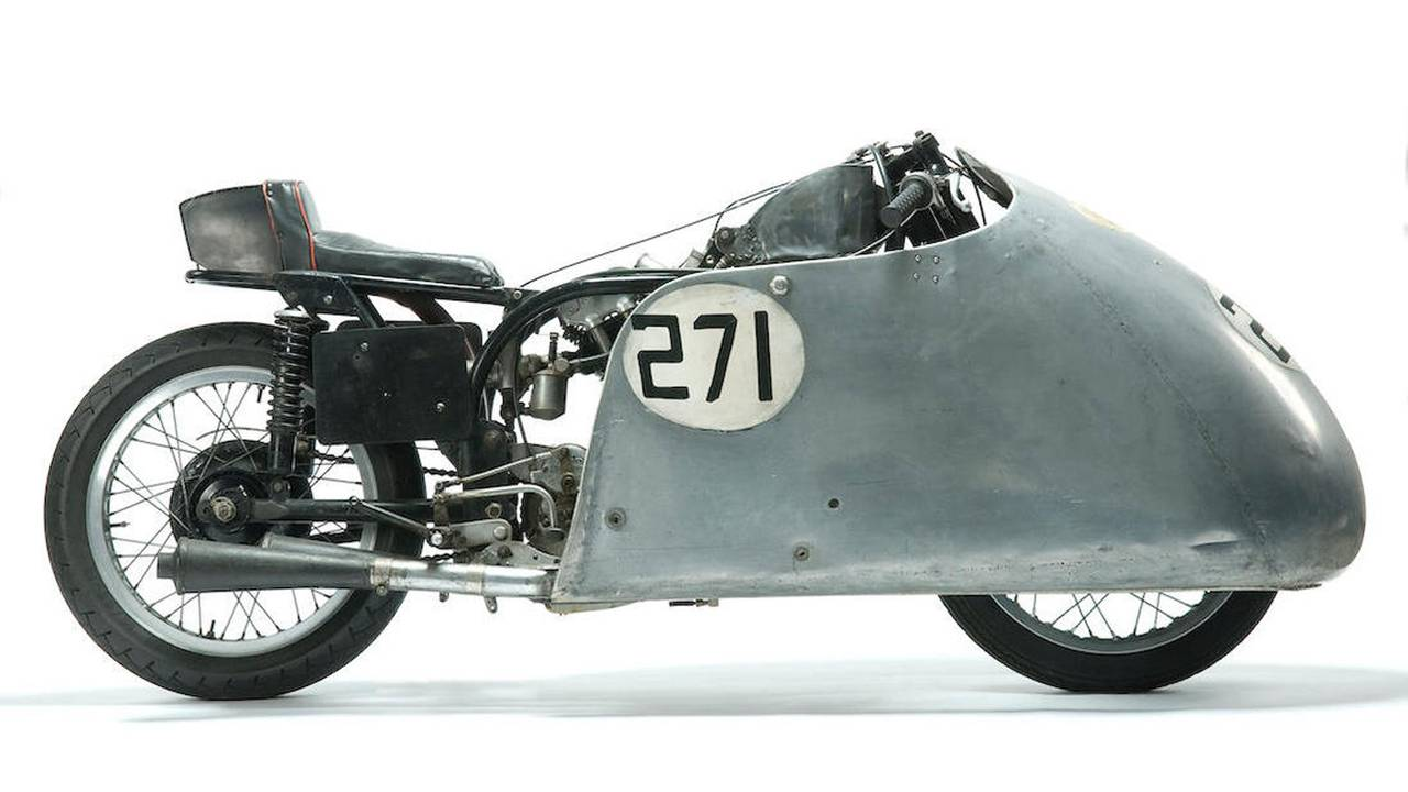 Ex-Francis Williams, Basil Keys,  c.1952 Norton-JAP 996cc Mk1 'Saltdean Special' Sprinter