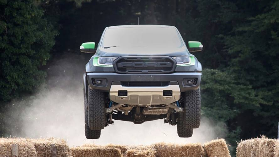 Why is Ford showcasing the new Ranger Raptor at a games convention?
