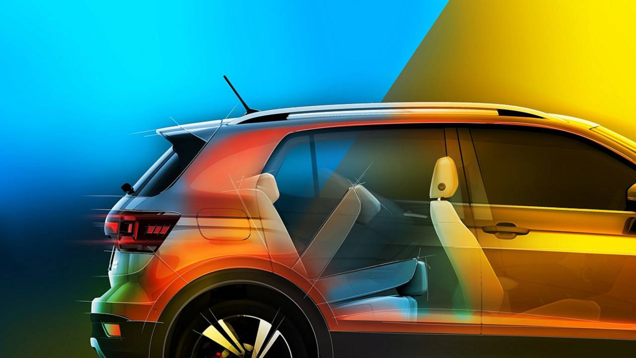 volkswagen t-cross spazio a bordo