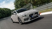 Hyundai i30 Fastback N gelişim testleri