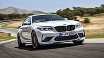 BMW M2 Competition, prova su strada