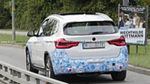 BMW iX3 photos espion