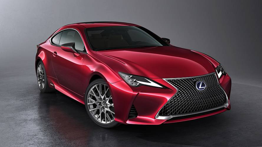 Updated Lexus RC F Sport tops out at £45,800