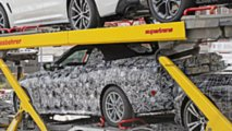 New BMW 4 Series Convertible spy photos