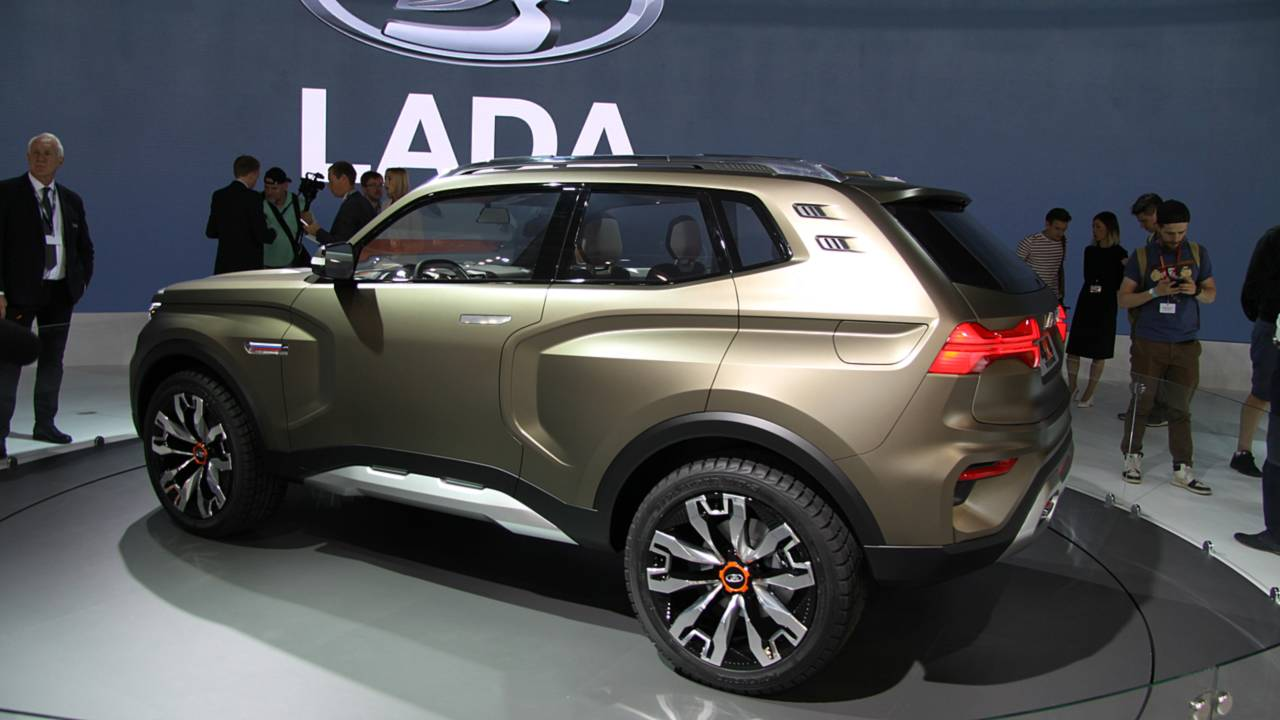 lada previews next gen niva offroader with new 4x4 vision concept. Black Bedroom Furniture Sets. Home Design Ideas