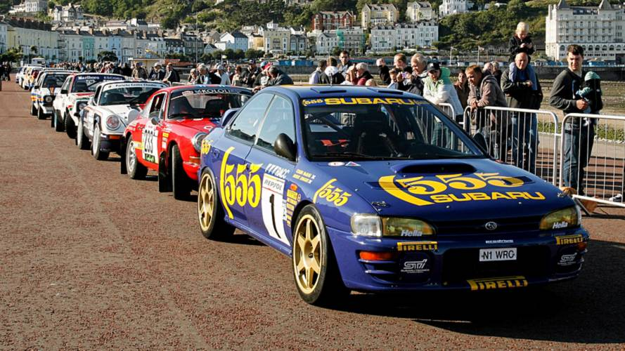 AutoClassics support Rally Legends showcase in Llandudno