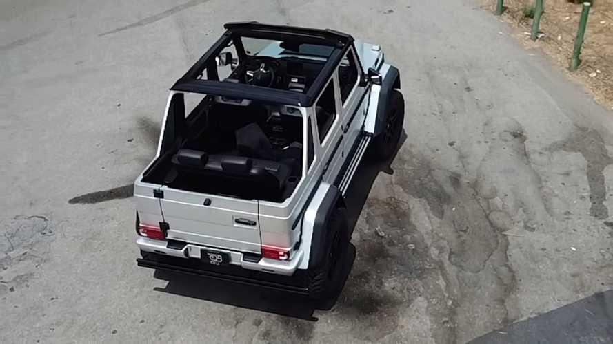 Mercedes G500 4x4² Landaulet, opulenza suprema