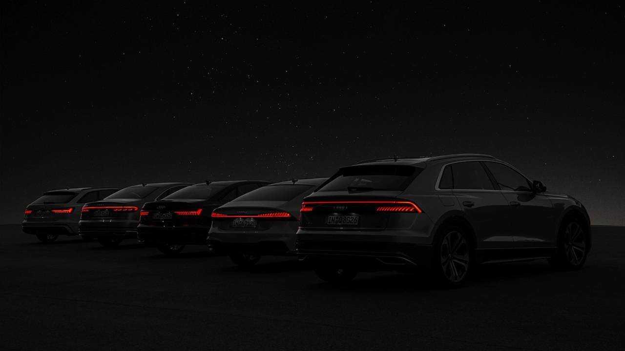 Audi'nin 2018 Model Büyük ve Lüks Otomobilleri Bir Arada