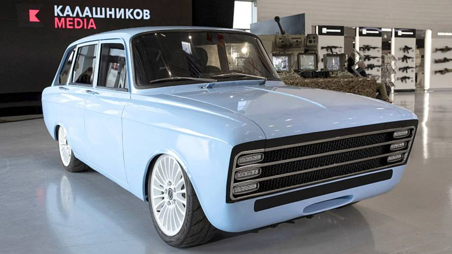 CV-1: Kalaschnikow baut ein Elektroauto