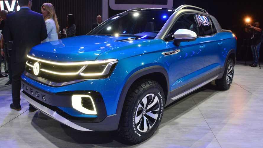 Salão de SP: Volkswagen Tarok antecipa futura rival da Fiat Toro