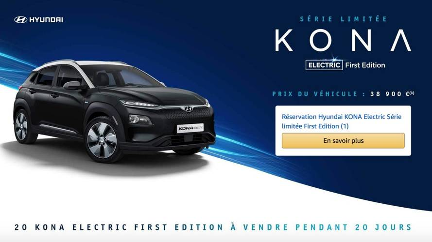 Le Kona Electric First Edition en exclusivité sur Amazon