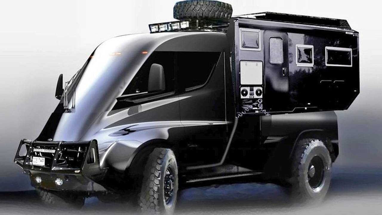 Tesla Expedition Camper