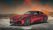 BMW Z4 Coupe render based on concept