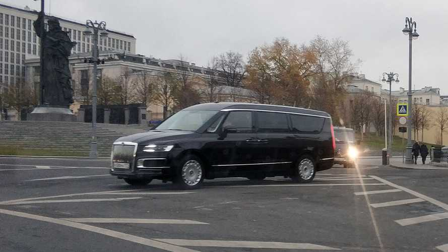 Aurus Arsenal is Vladimir Putin's new luxury MPV
