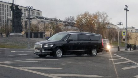 Aurus Arsenal Is Vladimir Putin's New Luxury Minivan