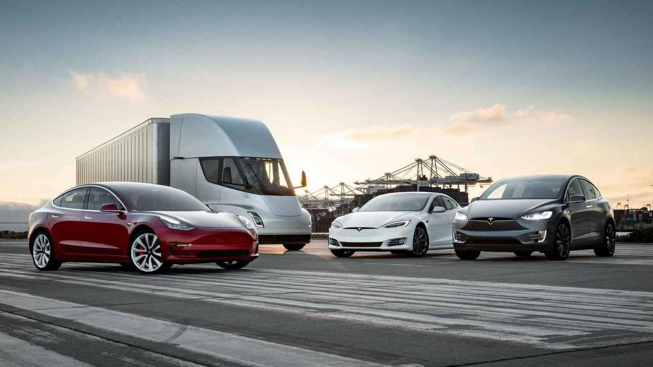 Gamme Tesla