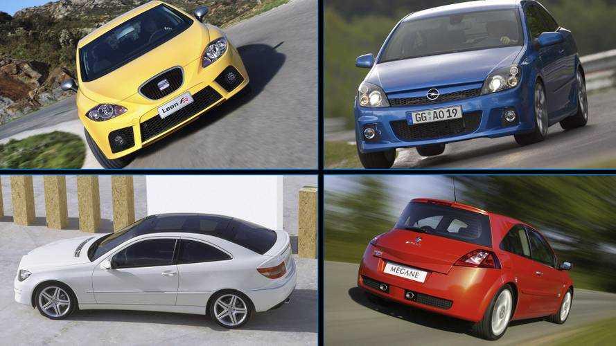 11 compactos deportivos e inolvidables, nacidos entre 2004 y 2008