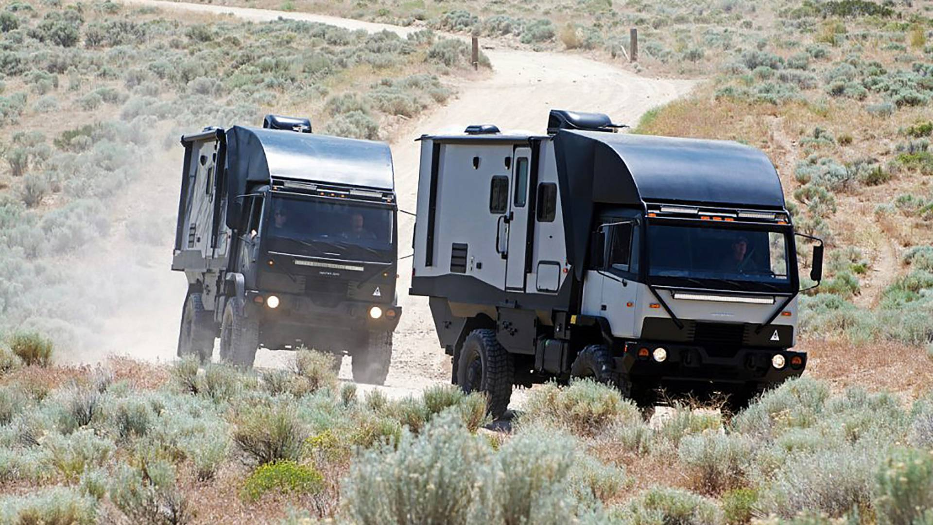 Predator 6 6 Is A Military Vehicle Disguised As An Off-Road RV