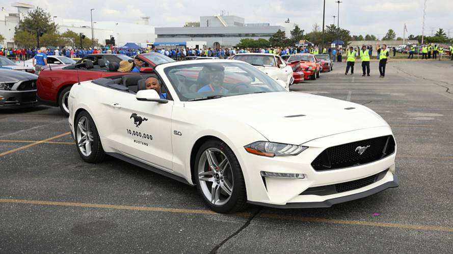 Der 10-millionste Ford Mustang
