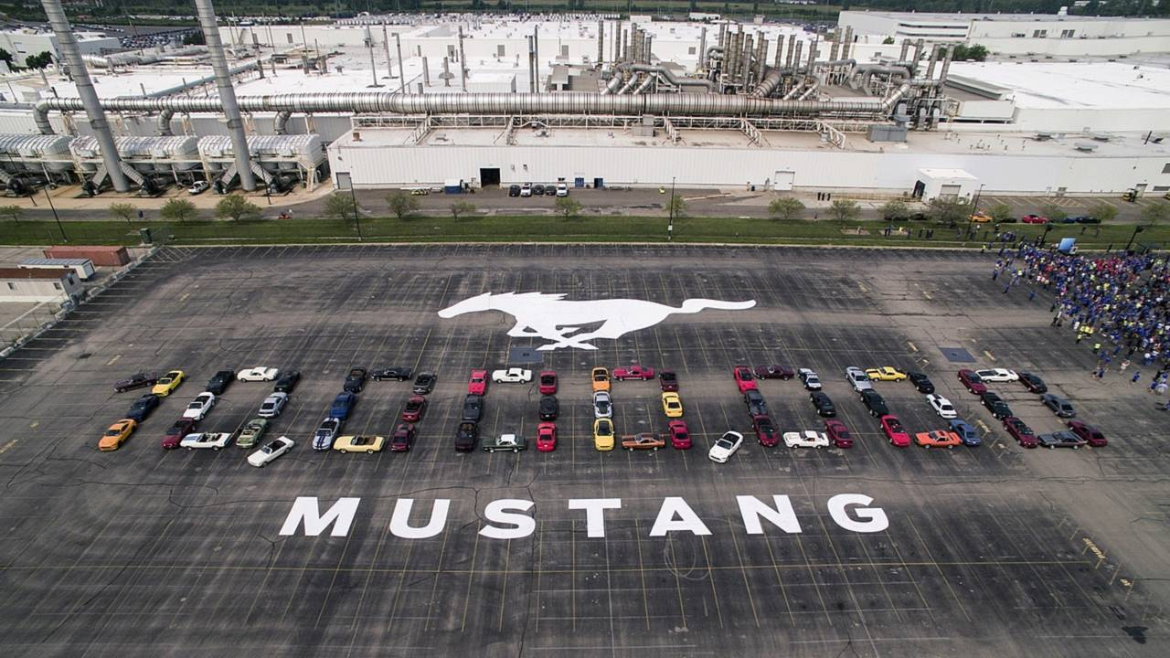 Mustang - 10 milhões