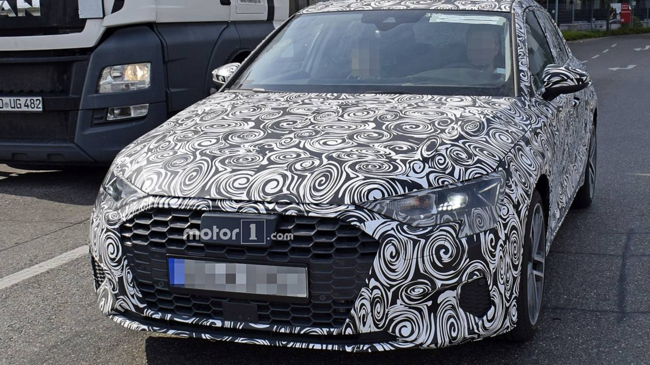 2019 Volkswagen Golf >> New Audi S3 Spied For The First Time [UPDATE: A3 Spotted]