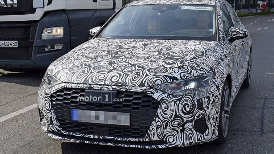 2019 Audi A3 spy photos