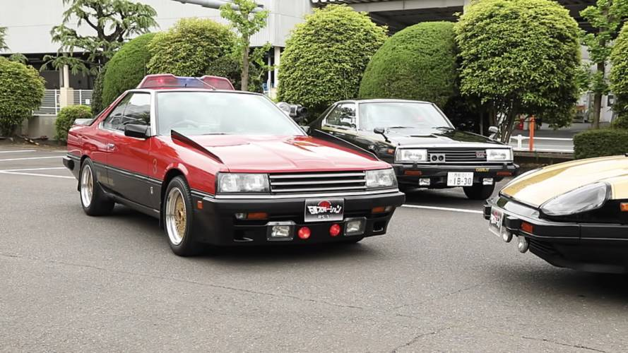 Nissan Heritage Police Cars
