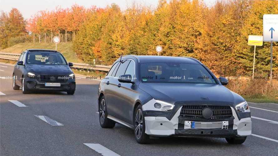 2020 Mercedes E-Class Spied
