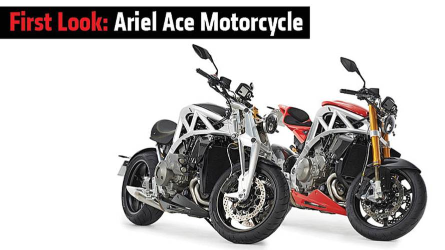 First Look: Ariel Ace Motorcycle